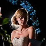 Dramatic-outdoor-evening-night-time-ceremony-bride-lights-dark