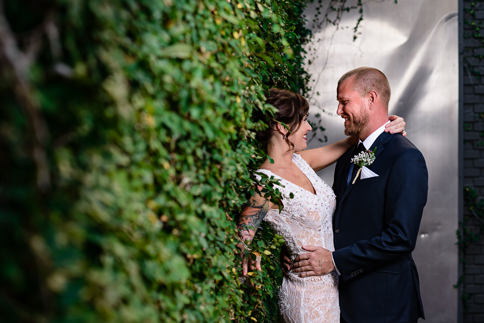 fine art wedding portrait by austin wedding photographer at The Belmont downtown