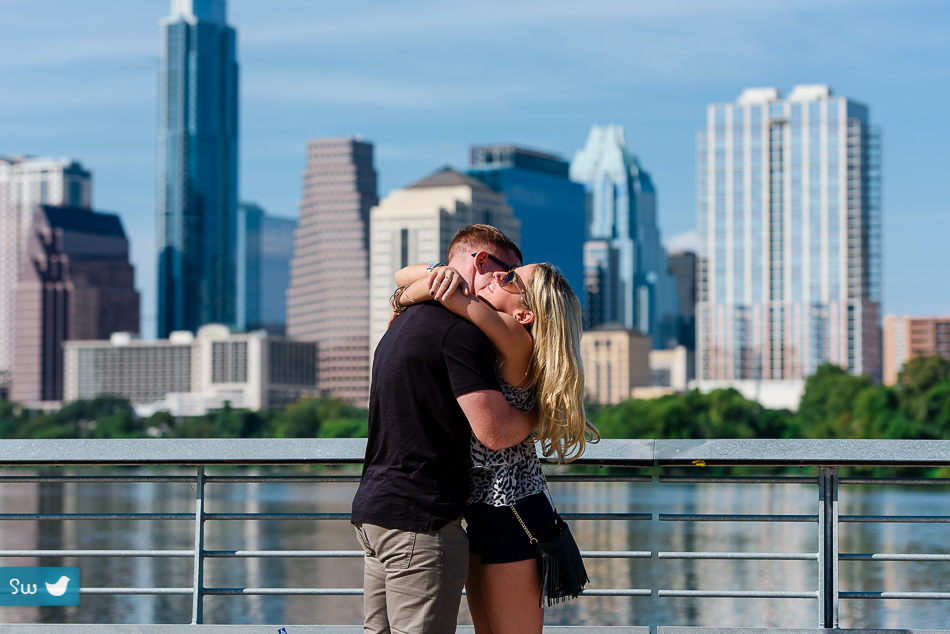 Danny Proposing To Jess On The Boardwalk In Austin Texas