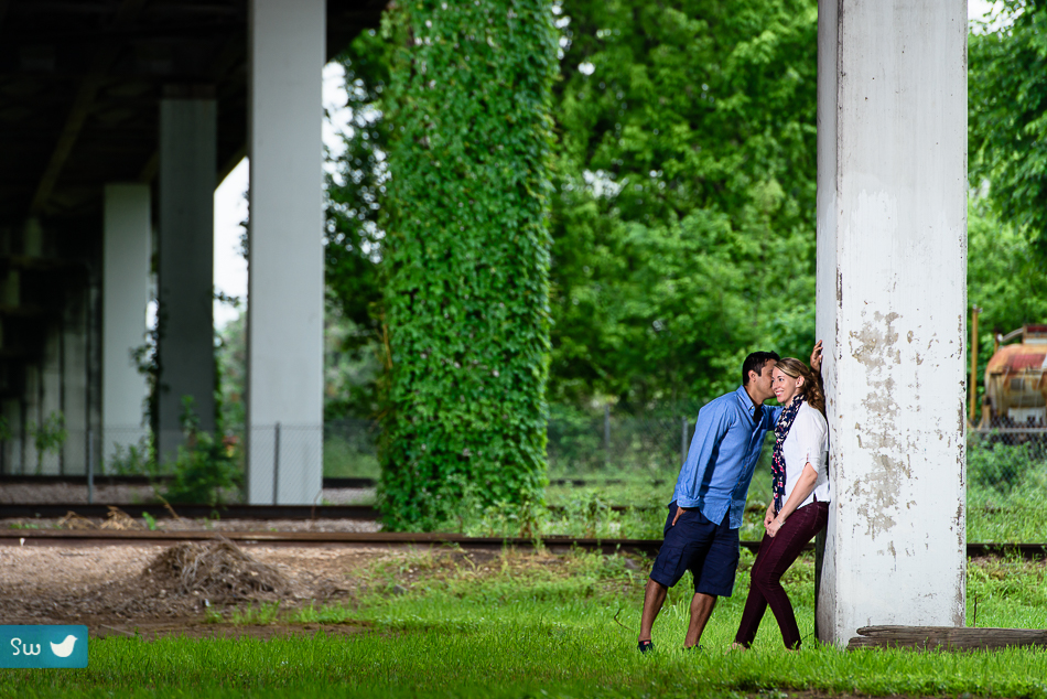 East Austin Engagement Photos by Austin Wedding Photographer