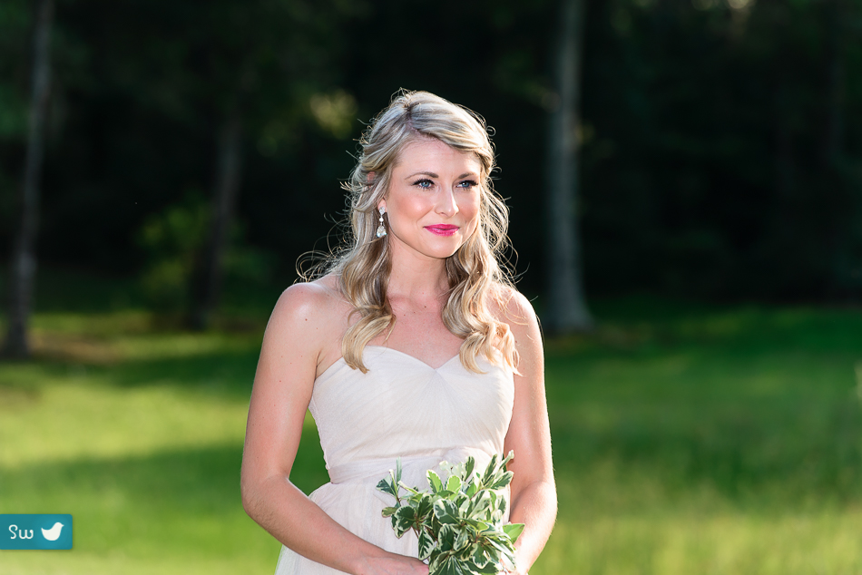outdoor ceremony by Austin wedding photographers
