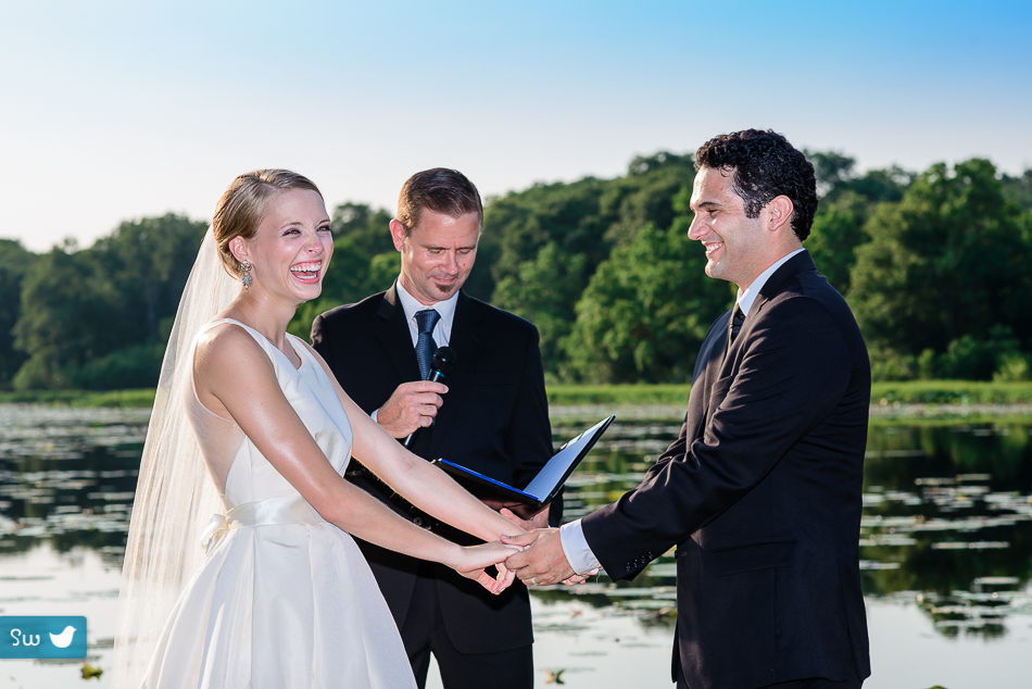 Austin Wedding Photographer, bride during ceremony
