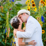 Ceremony kiss at Montesino Ranch by Austin Wedding Photographer