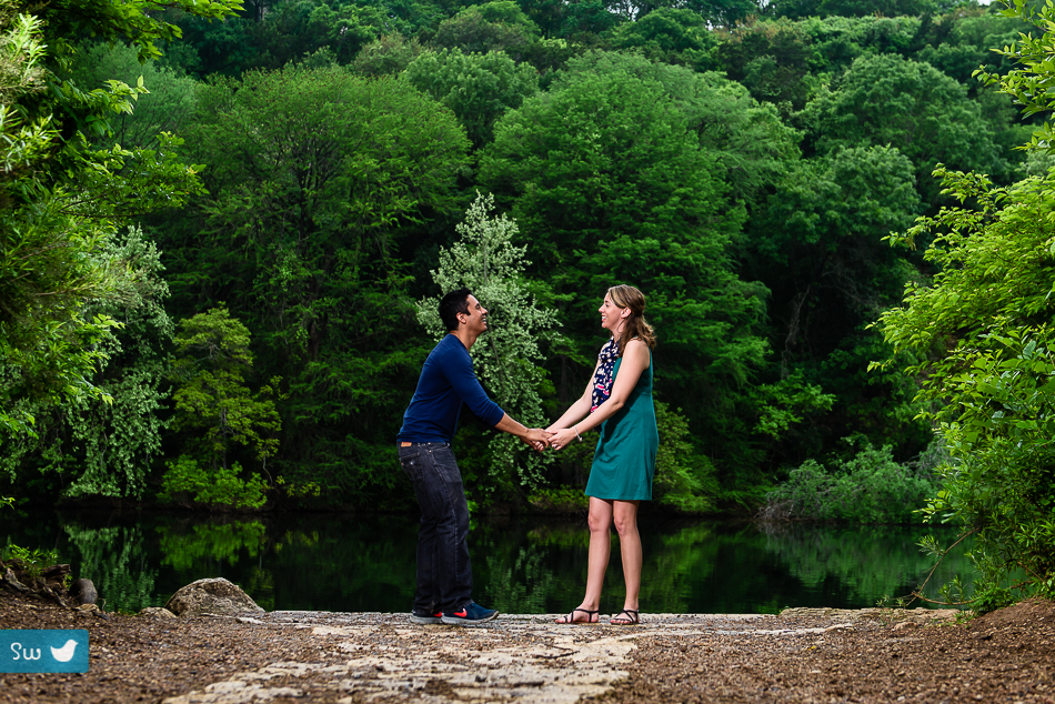 Outdoor Engagement Photos by Austin Wedding Photographer