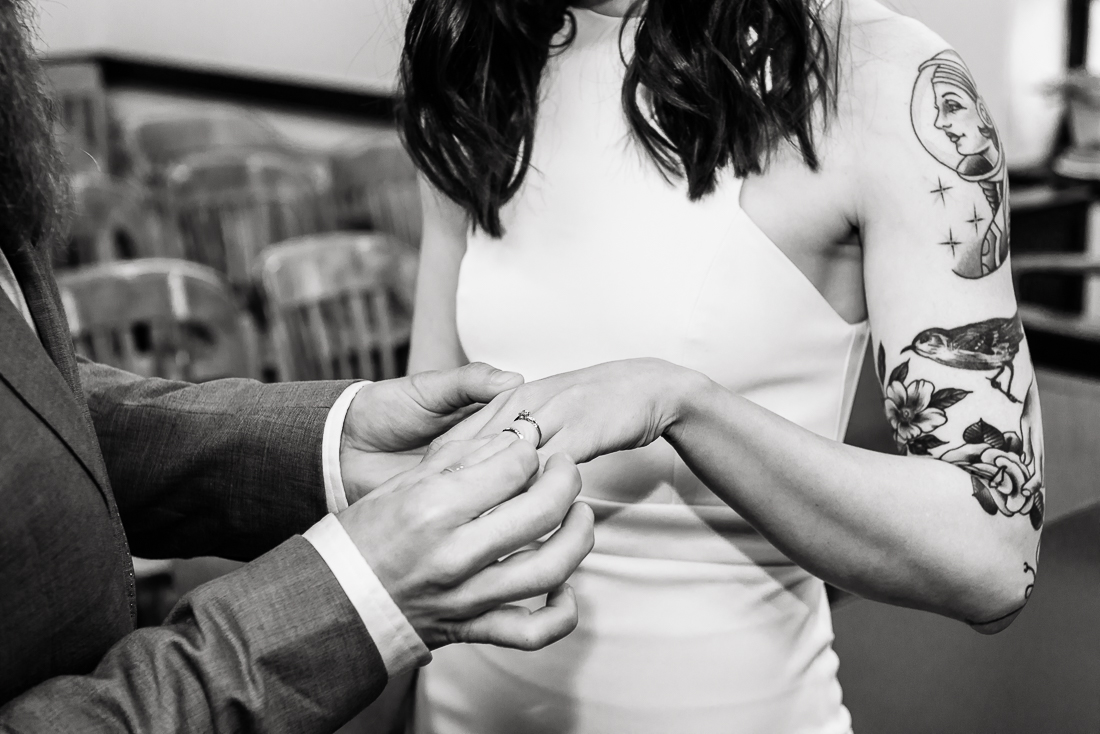 Marion-Sweatt-Courthouse-ring-bride-tattoo-Austin-wedding-photographers