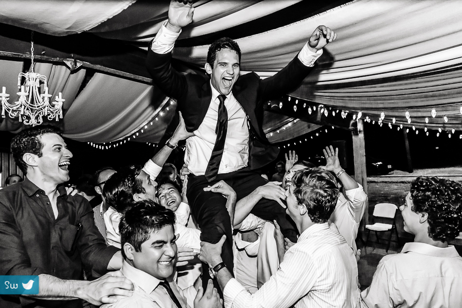 groom toss by austin wedding photographer