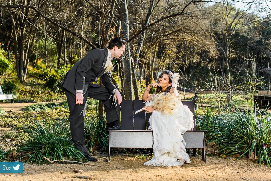 Umlauf Sculpture Garden Bride Groom Austin Wedding Photographe Songbird Weddings Blog