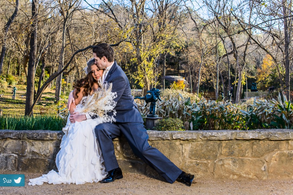 Candice And Ian At Umlauf Sculpture Garden Songbird Weddings Blog