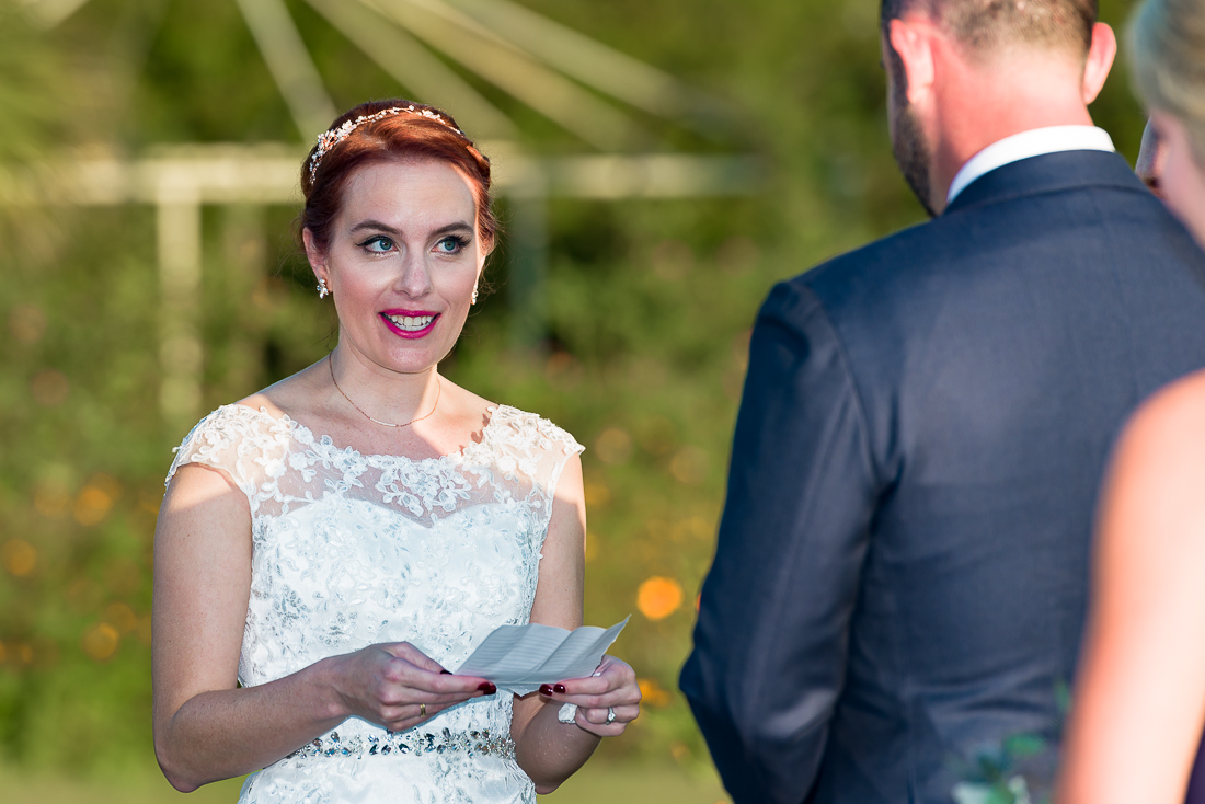 Le San Michele wedding outdoor ceremony by austin photographers