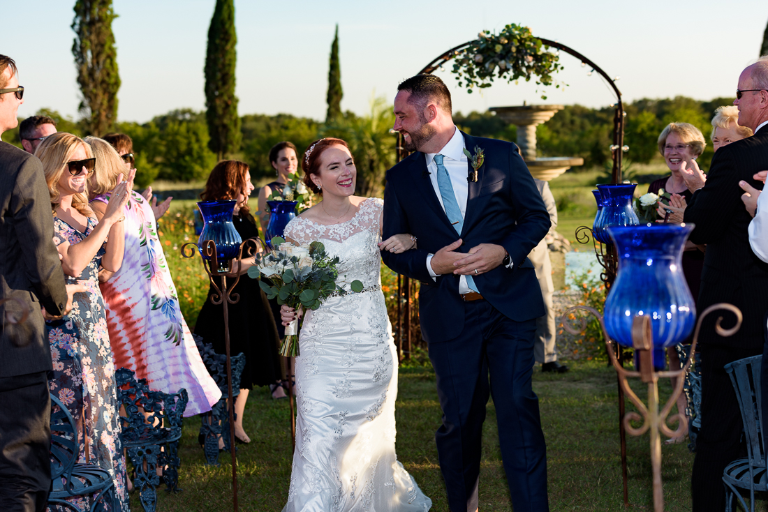 Le San Michele austin wedding photographers ceremony outdoor