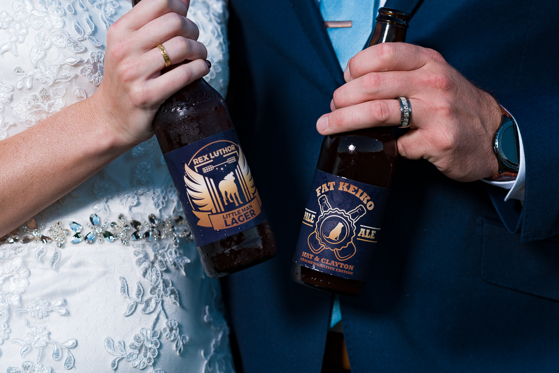 Fat Keiko pale ale beer wedding austin photographers Rex Luther little man lager