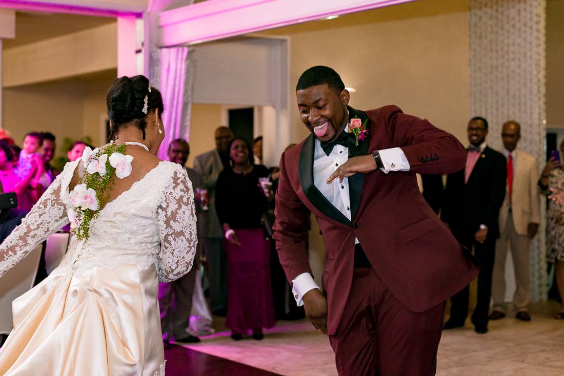 austin wedding photographers reception dancing, black wedding in texas