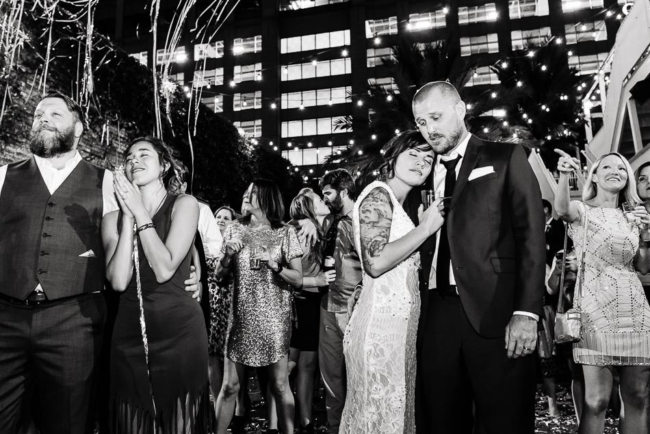 Calliope Musical wedding reception by austin wedding photographer